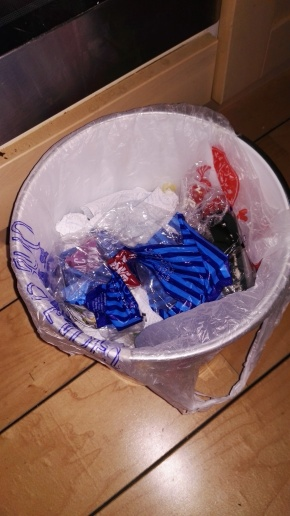 Mass Panic as Households Run Out Of Carrier Bags To Use As Bin Liners
